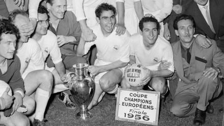 Real Madrid Liga Campeões 1956