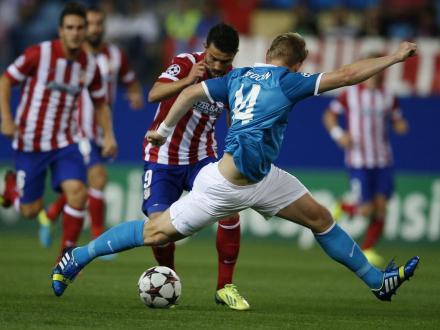 Atletico de Madrid Liga dos Campeoes