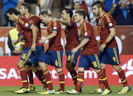 Espanha está na Copa do Mundo de 2014