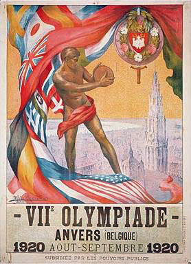 Olimpíadas de 1920, a primeira competição que a seleção espanhola de futebol jogou