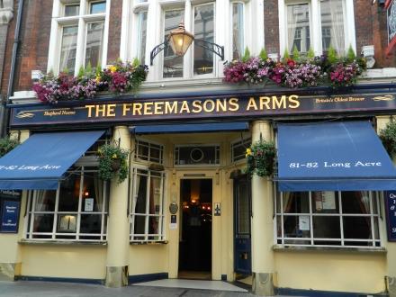 Pub onde o futebol foi criado Londres