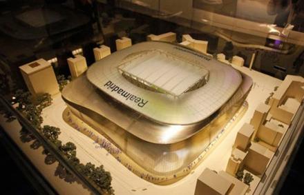 GMT Architekten projeto novo santiago bernabeu