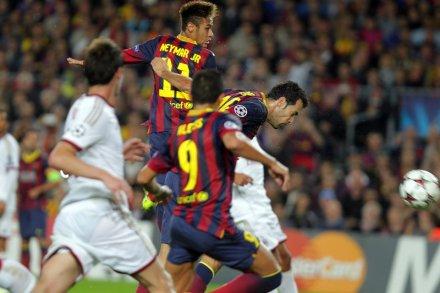 Barcelona nas oitavas da Liga dos Campeões