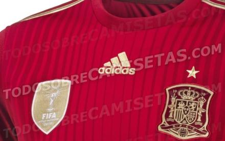 Camiseta Espanha Copa 2014