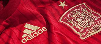 Nova Camiseta Seleção Espanha para a Copa do Mundo 2014