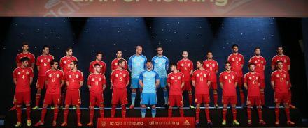Nova Camiseta Seleção Espanhola 2014