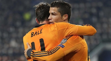 Cristiano e Bale