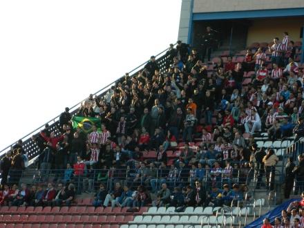 Torcida Athletic de Bilabao Vicente Calderón