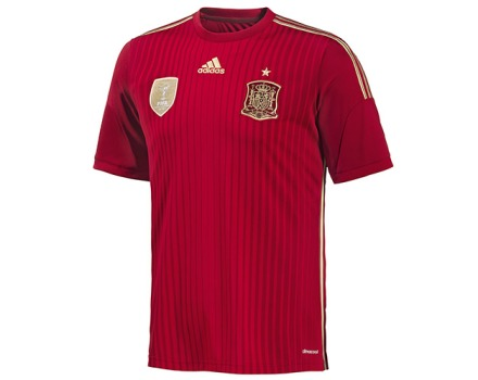 camiseta seleção espanhol copa 2014