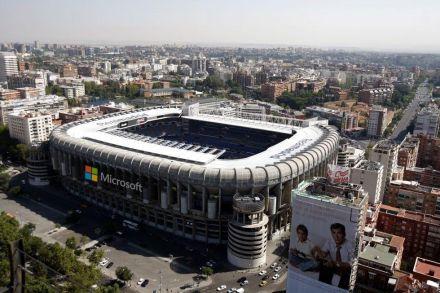 Microsoft poderia dar nome ao estádio santiago Bernabéu